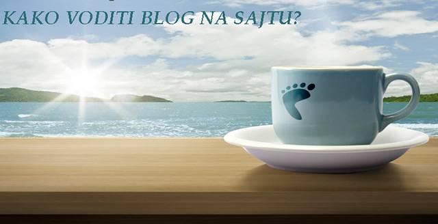 Blog na sajtu