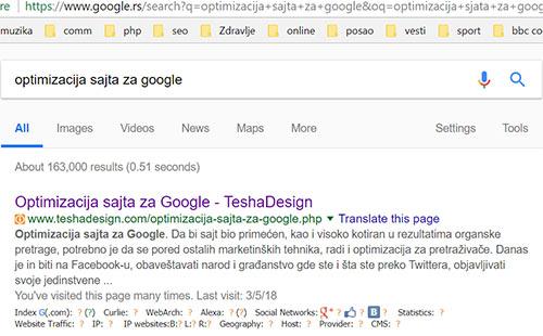 Google placeni oglasi